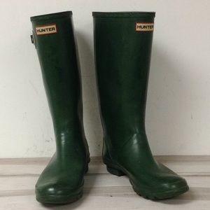29fad3ca289 Hunter Green Tall Rubber Rain Boot 9